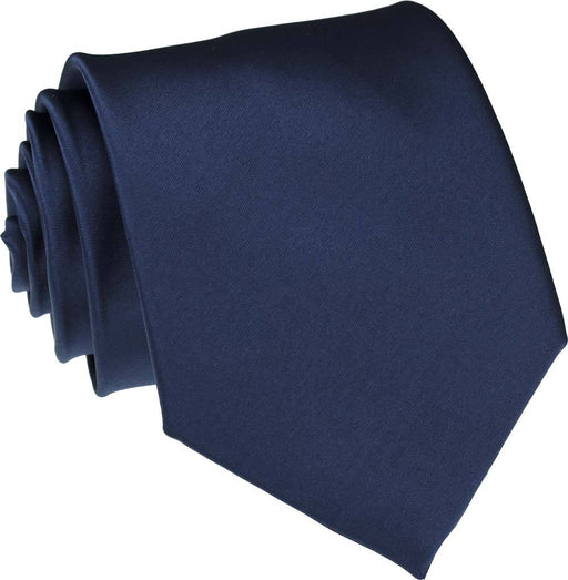 Airforce Navy Skinny Wedding Tie - Wedding