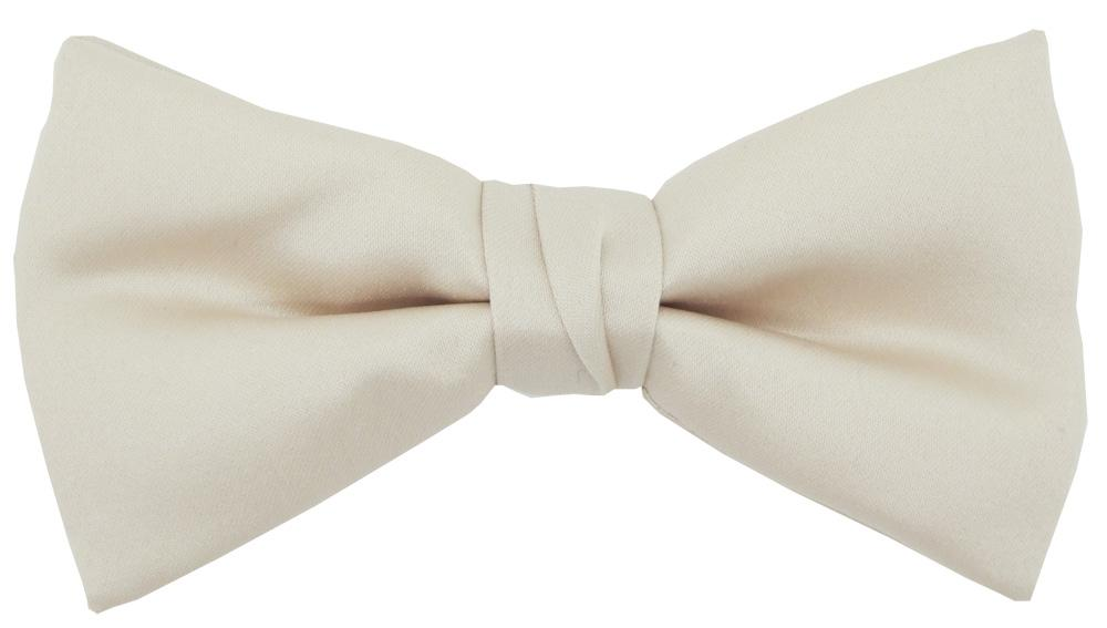 Antique Champagne Bow Tie - Wedding