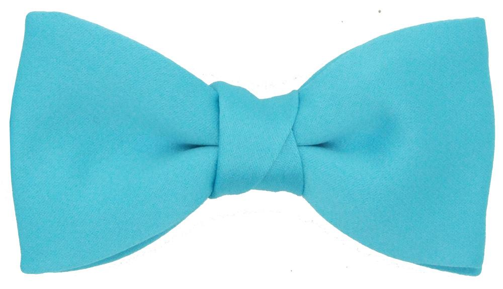 Aqua Bow Ties - Wedding