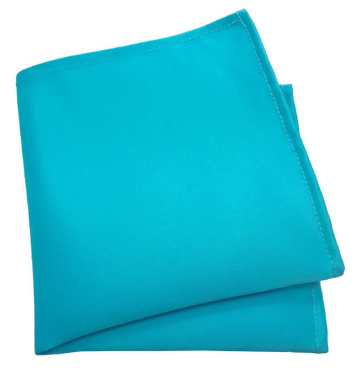Aqua Pocket Square - Wedding