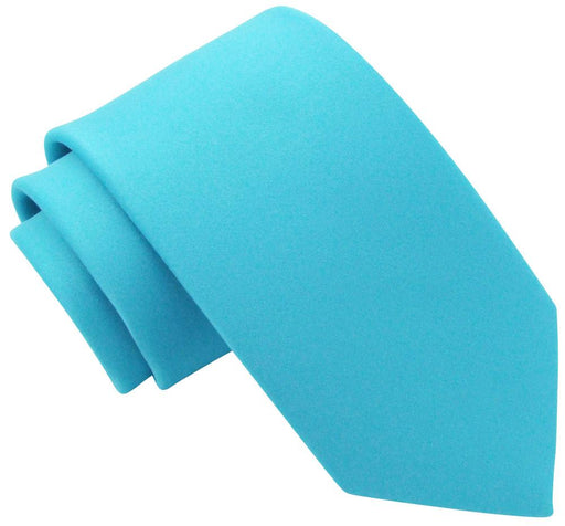 Aqua Wedding Tie - Wedding
