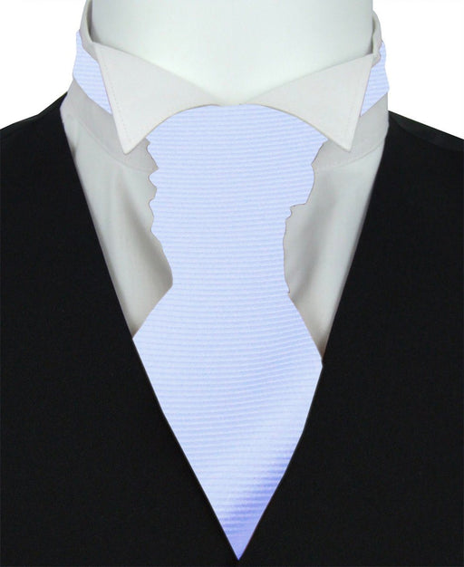 Arctic Twill Pre-Tied Wedding Cravat - Wedding