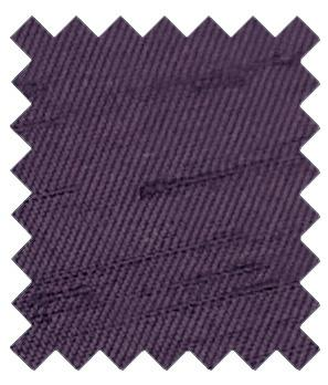 Aubergine Shantung Wedding Swatch - Wedding