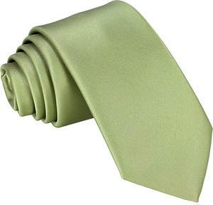 Avocado Green Skinny Wedding Tie - Wedding