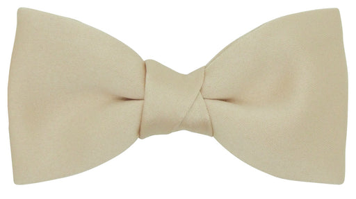 Ecru Boys Bow Tie + Pocket Square