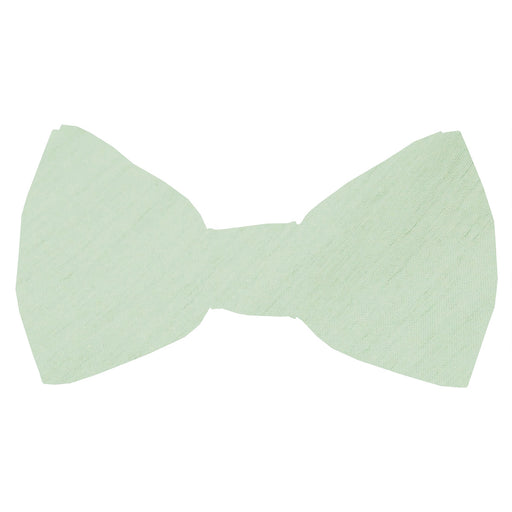 Water Mint Shantung Boys Bow Ties