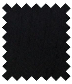 Black Shantung Wedding Swatch - Wedding