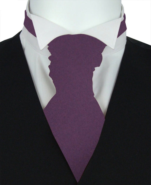 Blackberry Wine Boys Pre-Tied Wedding Cravat - Childrenswear