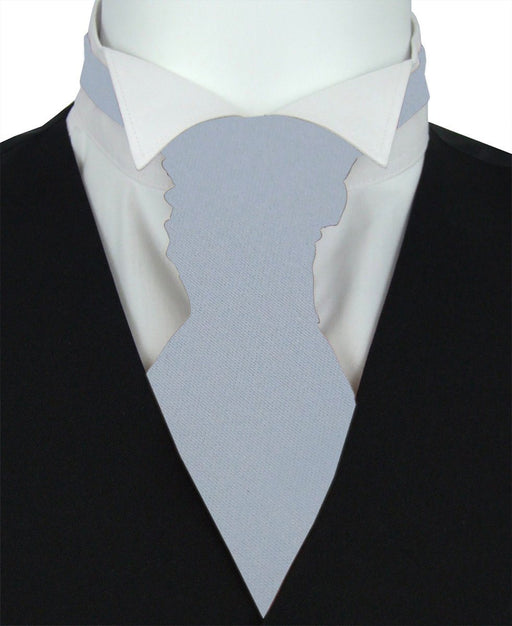 Blue Heather Boys Pre-Tied Wedding Cravat - Childrenswear
