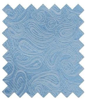 Blue Paisley Wedding Swatch - Wedding