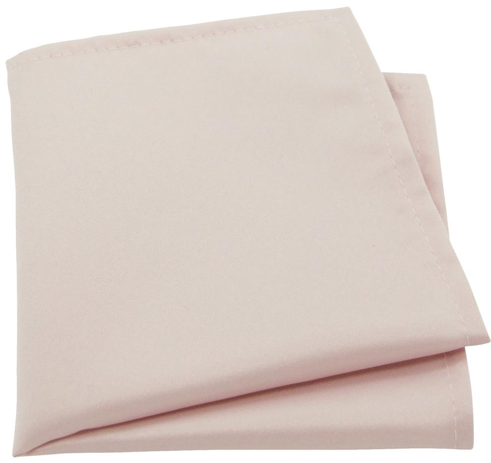 Blush Pink Pocket Square - Wedding