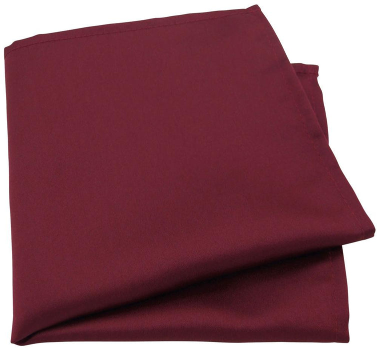 Bordeaux Pocket Square - Wedding