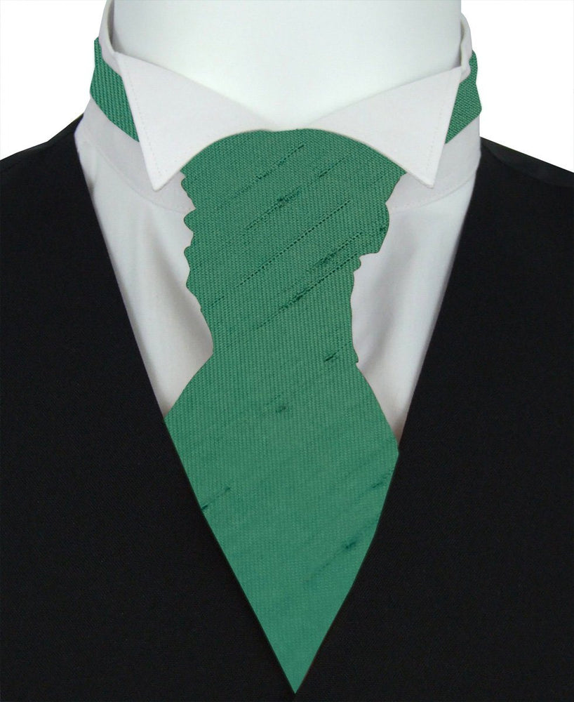 Bottle Shantung Pre-Tied Boys Wedding Cravat - Wedding