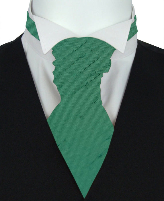 Bottle Shantung Pre-Tied Wedding Cravat - Wedding