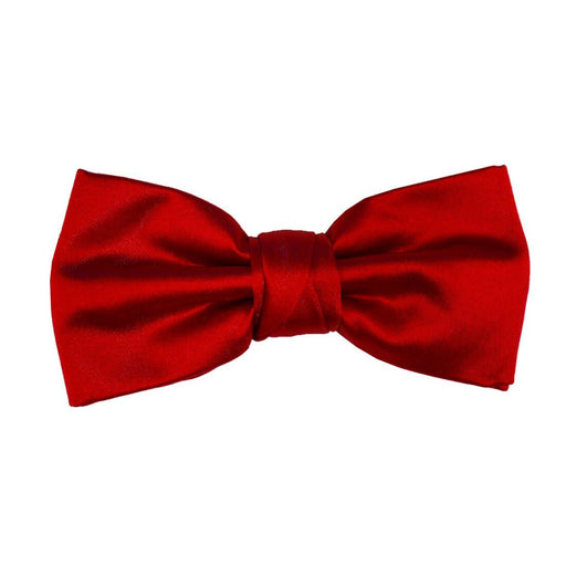Bright Red Bow Tie - Wedding
