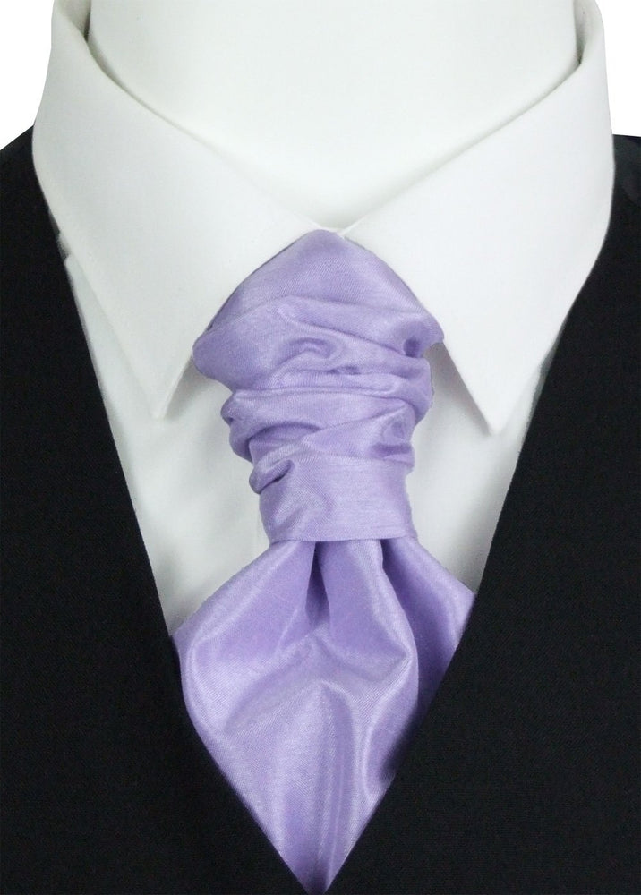 Butterfly Shantung Pre-Tied Wedding Cravat - Wedding