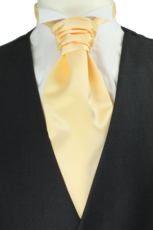 Buttermilk Pre-Tied Wedding Cravat - Wedding