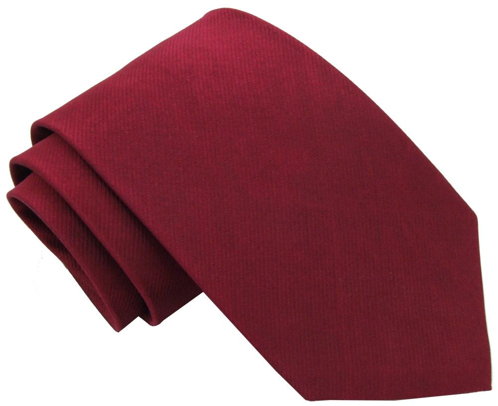 Cabernet Silk Wedding Tie - Wedding