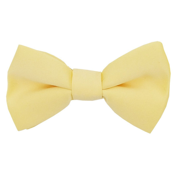 Canary Yellow Boys Bow Tie - Childrenswear