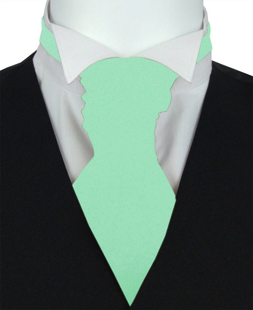 Candy Mint Boys Pre-Tied Wedding Cravat - Childrenswear