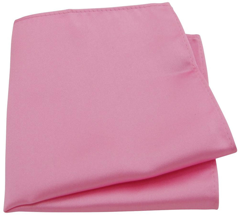 Candy Pink Pocket Square - Wedding