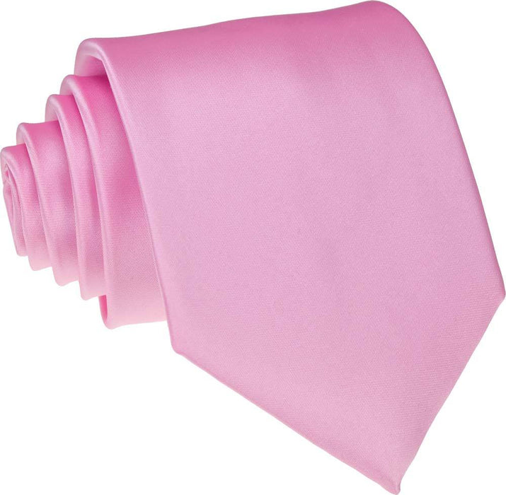 Candy Pink Skinny Wedding Tie - Wedding