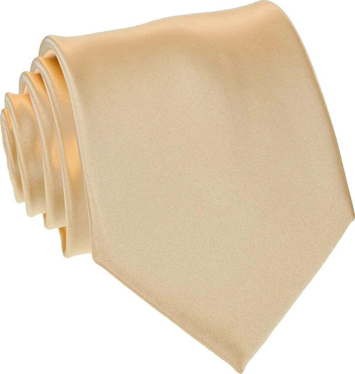 Caramel Skinny Wedding Tie - Wedding