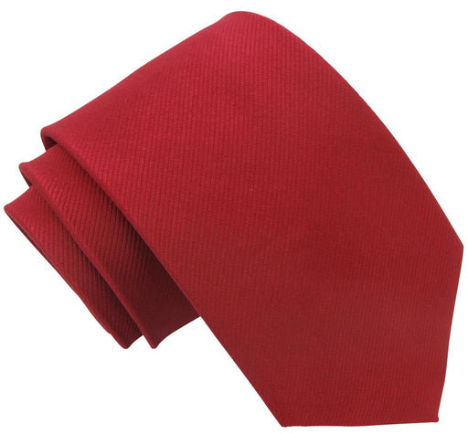 Carmine Silk Wedding Tie - Wedding