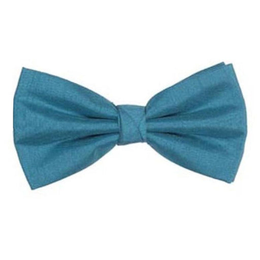 Cerulean Shantung Bow Tie - Wedding