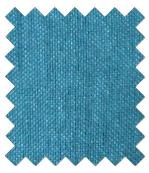 Cerulean Shantung Wedding Swatch - Wedding
