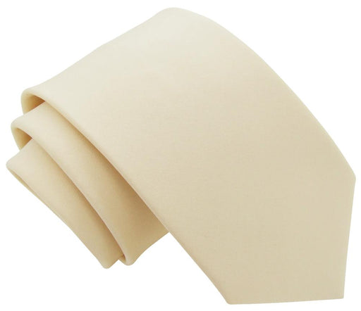 Champagne Ivory Boys Tie - Childrenswear