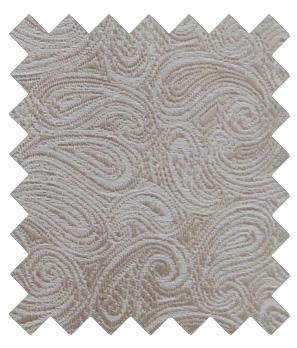 Champagne Paisley Wedding Swatch - Wedding