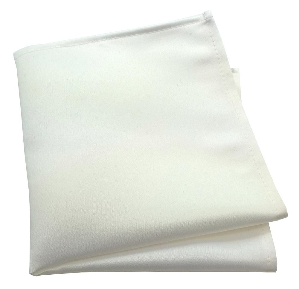 Chantilly Cream Pocket Square - Wedding