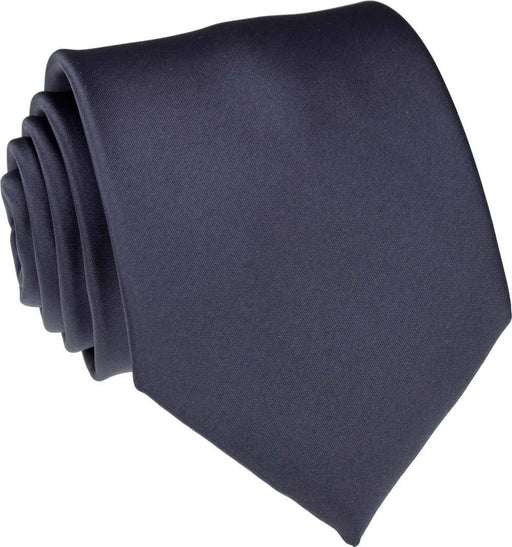 Charcoal Skinny Wedding Tie - Wedding