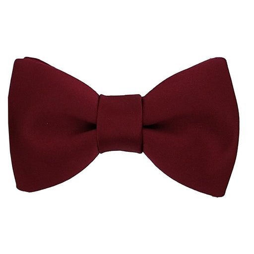 Cherry Red Boys Bow Tie - Childrenswear
