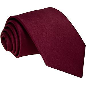 Cherry Red Boys Tie - Childrenswear