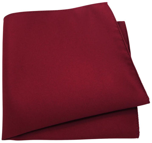 Cherry Red Pocket Square - Wedding