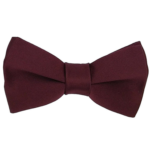 Claret Bow Ties - Wedding