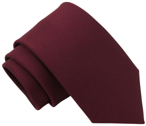 Claret Wedding Tie - Wedding