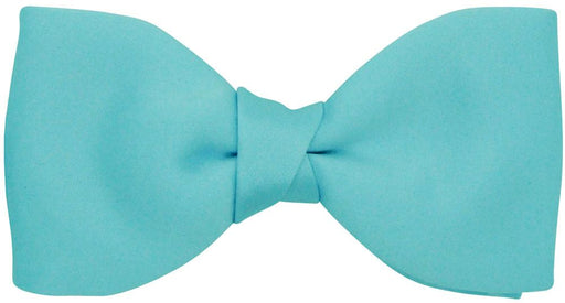 CLEARANCE - Aqua Bow Tie - Clearance