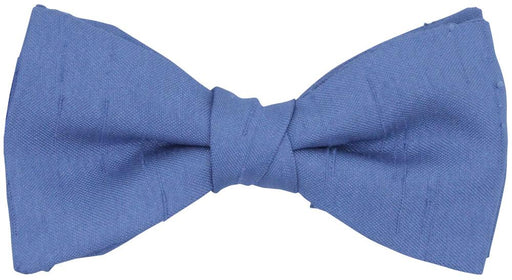CLEARANCE - Bluebell Shantung Boys Bow Tie - Clearance