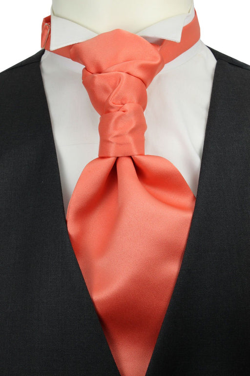 CLEARANCE - Dark Apricot Cravat - Clearance