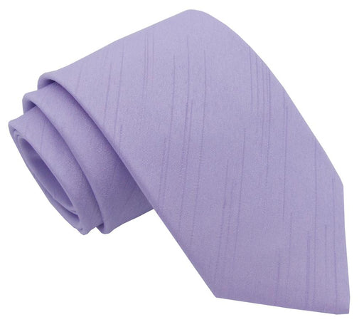 CLEARANCE - Lilac Shantung Boys Tie - Clearance