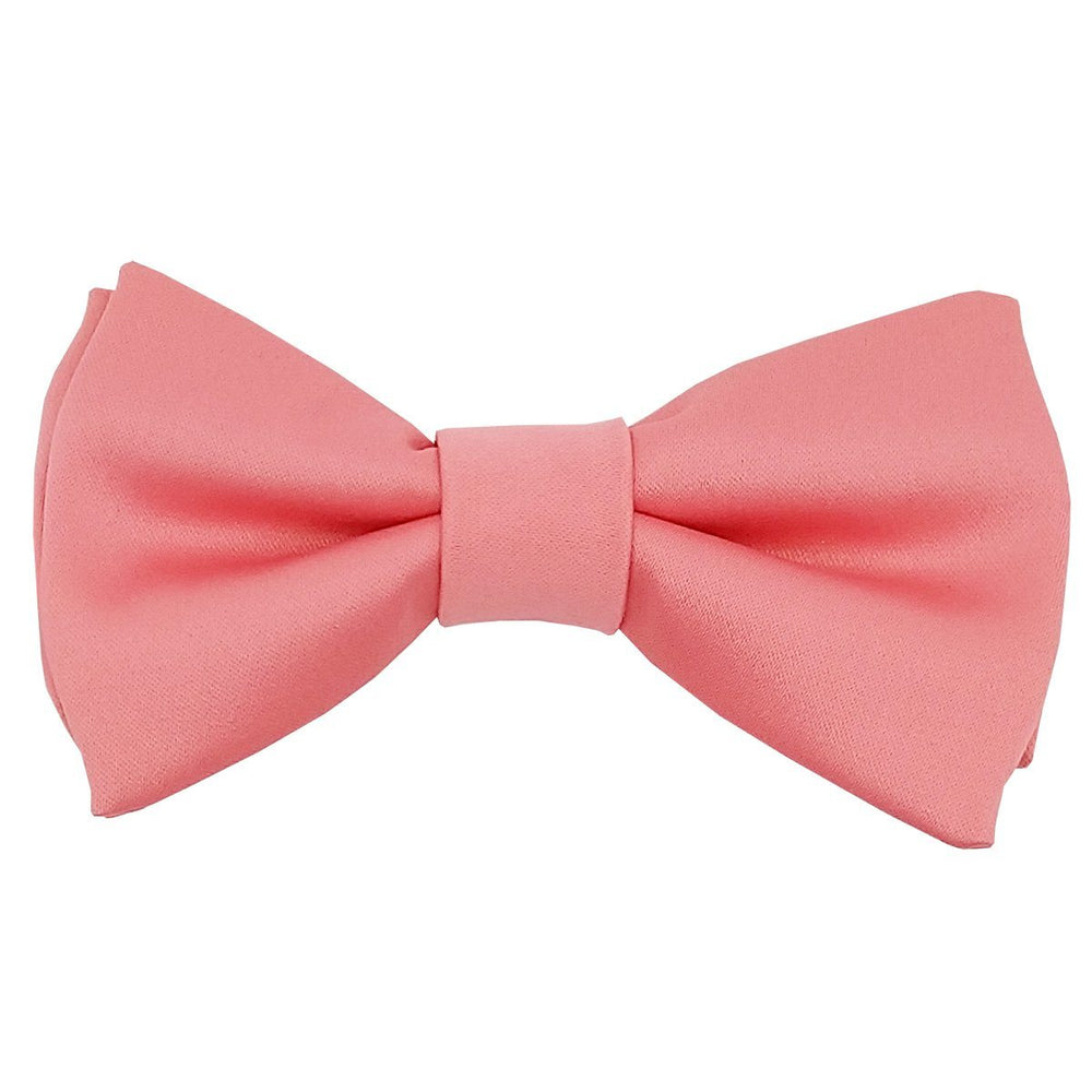 Coral Boys Bow Tie - Childrenswear