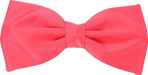 Coral Rose Bow Tie - Wedding