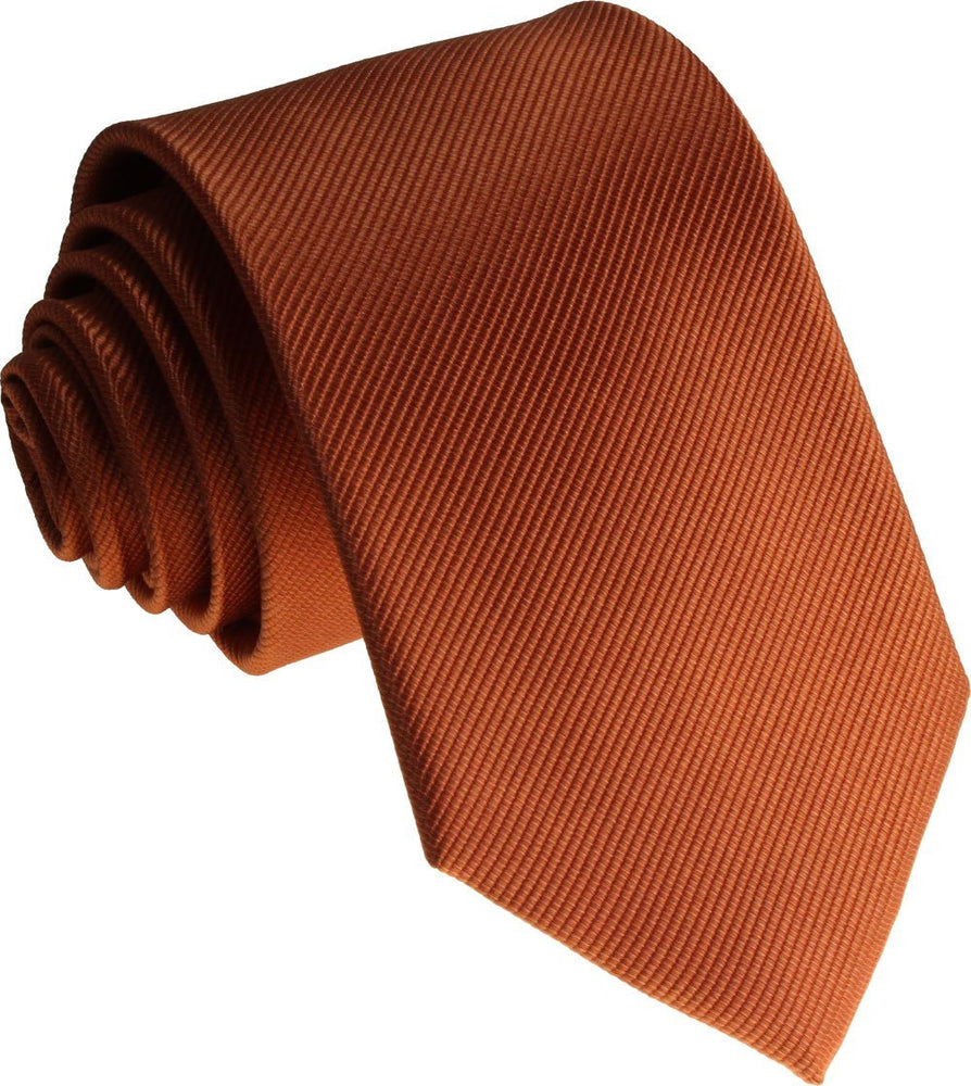Coral Silk Wedding Tie - Wedding