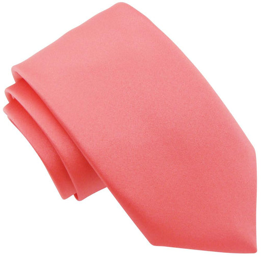 Coral Wedding Tie - Wedding