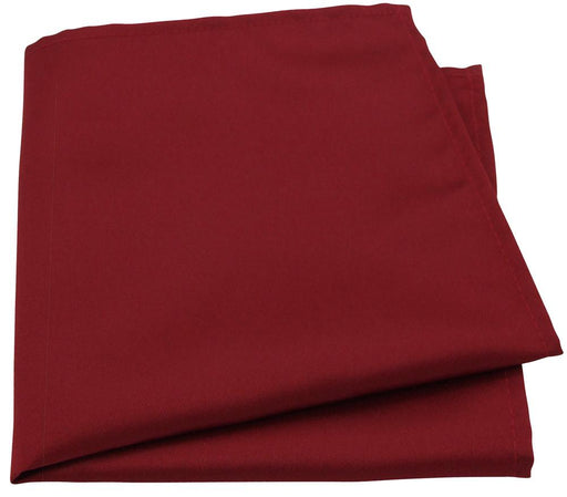 Cranberry Pocket Square - Wedding