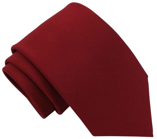 Cranberry Wedding Tie - Wedding