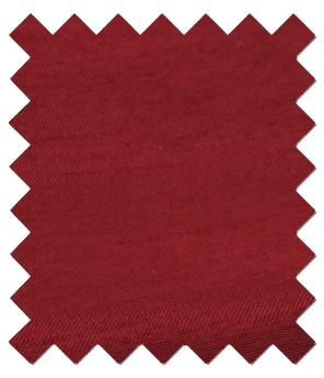 Crimson Shantung Wedding Swatch - Wedding